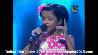 Ranita Banerjee 25 July 2015 Performance - Tu Kitni Achchhi Hai (Raja Aur Runk)