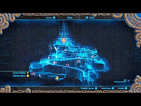 Hyrule Castle Walkthrough Breath Of The Wild Youtube
