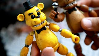ABRINDO FIGURAS DE FIVE NIGHTS AT FREDDY