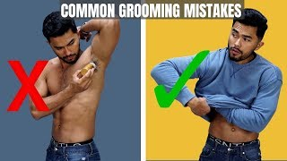 Top 8 Common Grooming Mistakes Men Make