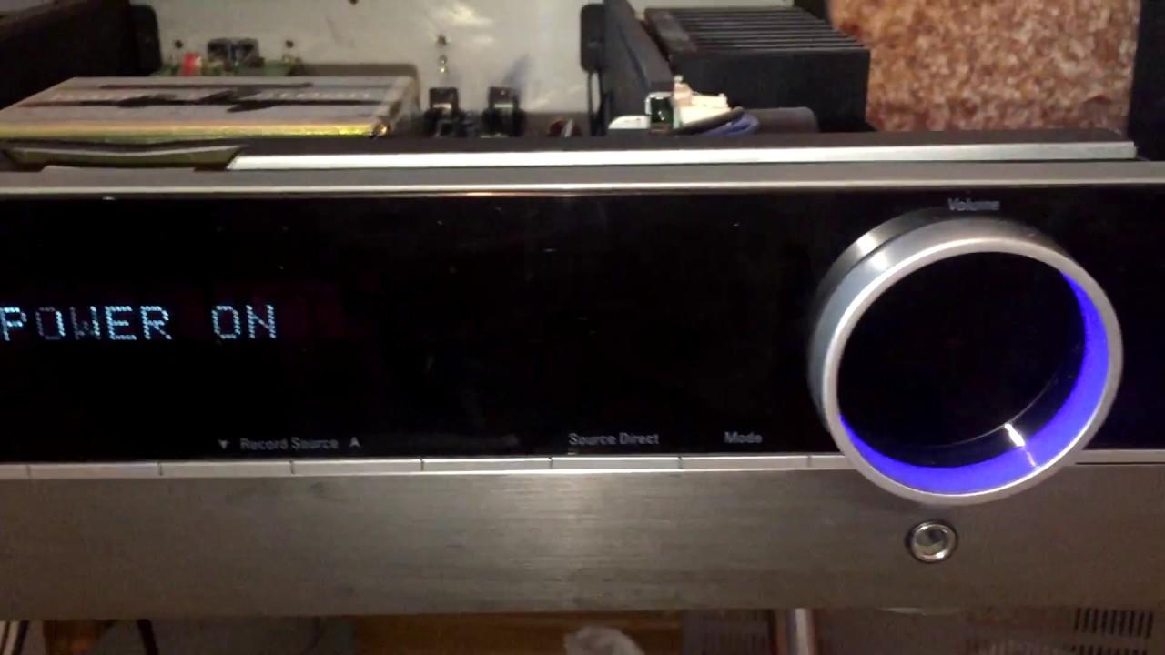 Inside Harman Kardon 970 Integrated Amplifier