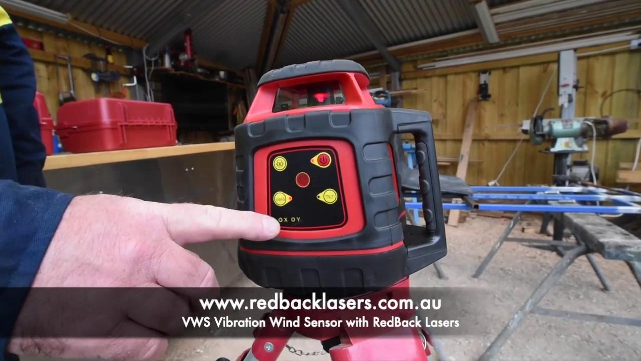 VWS Vibration Wind Sensor Feature RedBack Lasers EL & EGL Models