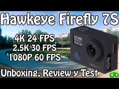 Hawkeye Firefly 7S Unboxing, Review y Test (Wifi HD Sportcam 4K Action Camera)