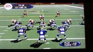 Madden 2001 on N64! Game 1. Dallas Cowboys vs Washington Redskins. Part 1