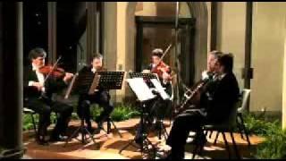 Mozart Clarinet Quintet K 581 cl.Vincenzo Paci. Allegretto con Variazioni -Adagio-Allegro