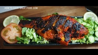 Fish Tikka Recipe Whole Tilapia Indian