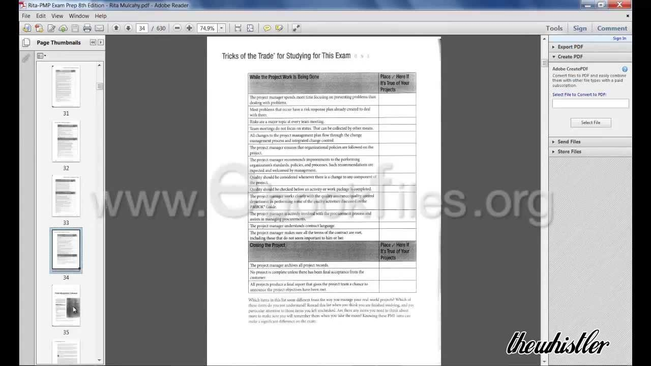 Rita mulcahy 8th edition pdf pmp exam prep 2013 youtube xflitez Gallery