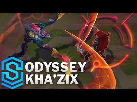 Odyssey Kha'Zix Skin Spotlight - Pre-Release - League of Legends