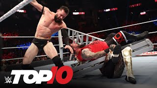 Top 10 Raw moments: WWE Top 10, Oct. 25, 2021 Thumb