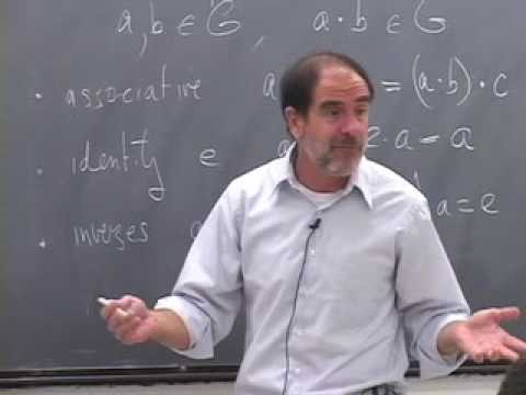 Abstract Algebra ~ Harvard ~ Lecture 02