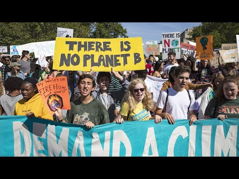 Watch live: D.C. protesters participate in global climate change strike