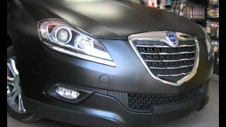 RIVESTIMENTO LANCIA DELTA NERO OPACO TETTO NERO LUCIDO CAR WRAPPING
