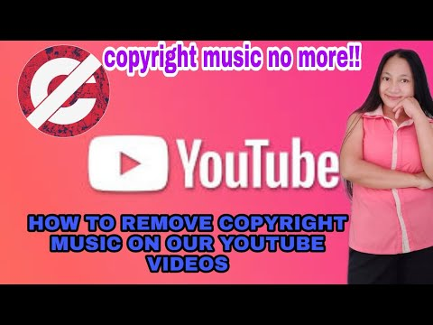 How To Removed Copyright Claim Music On Youtube Videos Tagalog Tutorials Cpr No More Youtube