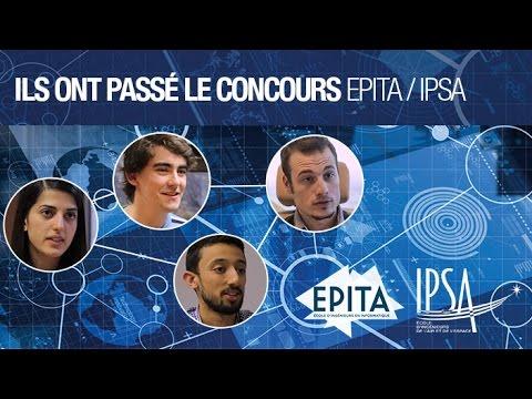 Ils ont passé le concours EPITA - IPSA