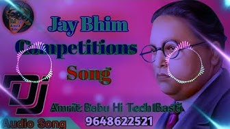 Jay Bhim Competition Song DJ mix Rajkamal basti.ile Sawari Babasaheb ke #Amrit Babu hi tech basti