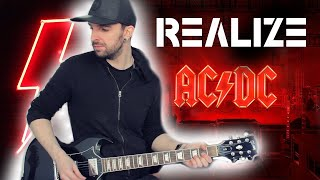AC/DC Realize - Full Instrumental Guitar Cover!