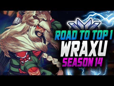 WRAXU BEST HANZO! ROAD TO TOP 1! [ OVERWATCH SEASON 14 TOP 500 ] thumbnail