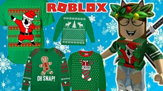 ROBLOX: How to make CHRISTMAS blouses by CELL PHONE #1