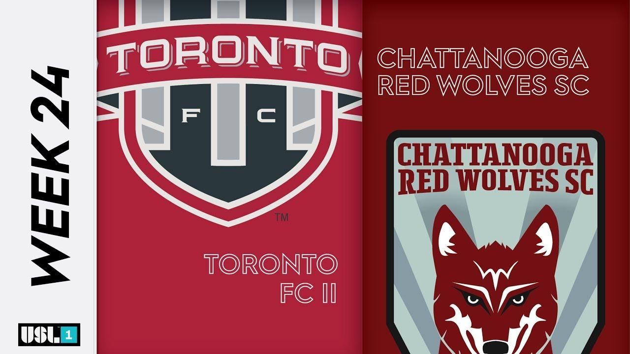 Toronto FC II vs  Chattanooga Red Wolves SC: September 6th, 2019