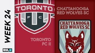 Toronto FC II vs. Chattanooga Red Wolves SC: September 6th, 2019