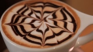 How to Etch Spirals | Latte Art