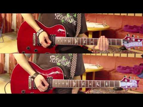 The Red Jumpsuit Apparatus - Face Down (guitar cover)