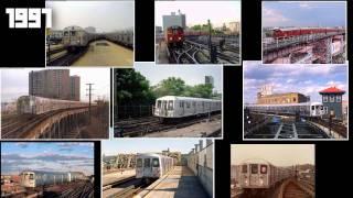 NYC subway 1962-2010