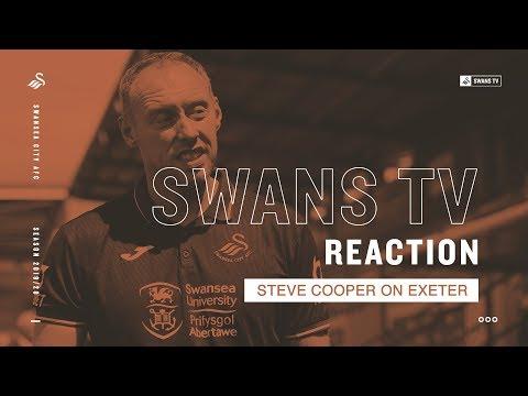 Steve Cooper on Exeter | Reaction