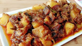 ছুরি শুঁটকি ভুনা||অসম্ভব মজার শুঁটকি ভুনা||Churi Shutki Bhuna Ranna||Chury Shutkir Bangla Recipe||