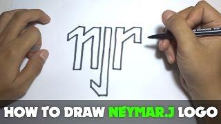 How to Draw a Cartoon - Neymar Junior (Tutorial Step by Step)
