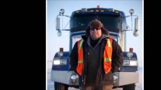 Winter Driving in the Oilfield