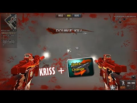Point  Blank ~ Test  Kriss SV GRS 3 Burning Hall