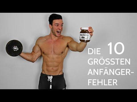 TOP 10 FITNESS FEHLER - die du unbedingt vermeiden musst!