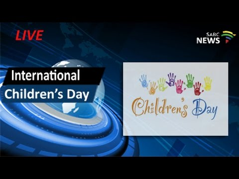 International Children's Day: 01 June 2016