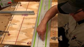 Festool Lr32 System With A Base Cabinet.  Part 5