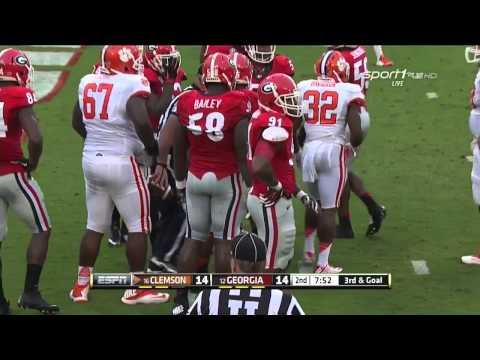 #12 Georgia vs #16 Clemson 2014 FULL GAME HD
