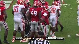 #12 Georgia vs #16 Clemson 2014 FULL GAME HD