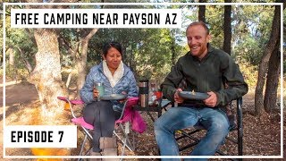 Free Camping near Paỳson AZ for RV's and Tents