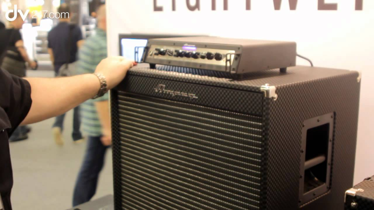 Ampeg Pf410 Hlf And 115lf Speaker Cabinets Musikmesse 2017