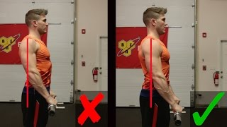 How To: Barbell Front Raise | 2 MOST COMMON MISTAKES! (STOP)