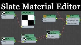 3ds Max Slate Material Editor Tutorial