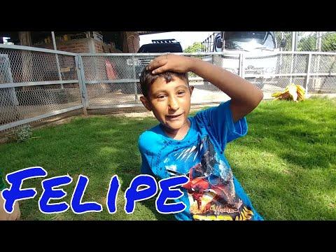 """Conozcamos mas de Felipe """"Felipín"""". Entrevista a los niños del 4K Jr. Parte 11"""