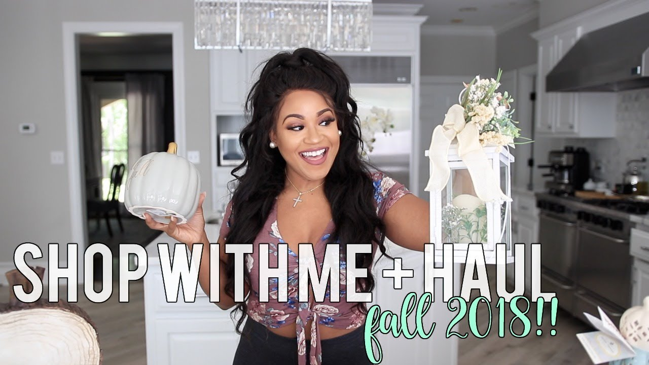 Shop With Me: Fall Decor Haul | BIG LOTS + TJ MAXX!! Fall 2018