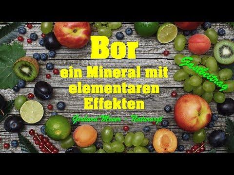 BOR - Ein Mineral Mit Unglaublichen Effekten !