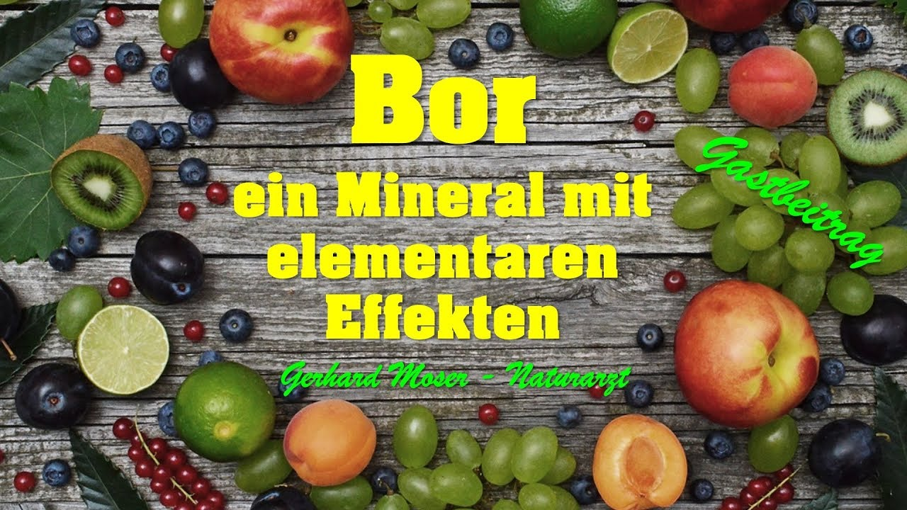 Download BOR - ein Mineral mit unglaublichen Effekten !