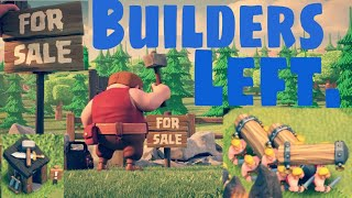 Why Builder's Left the village| Clash of Clans | 5 th Clashiversary | Bye Bye Builder.