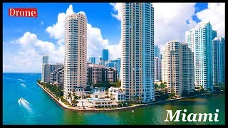 Downtown Miami By Drone