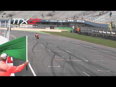Qualifying Assen TT TTXGP European Championship 2012 Electric Motorcycle