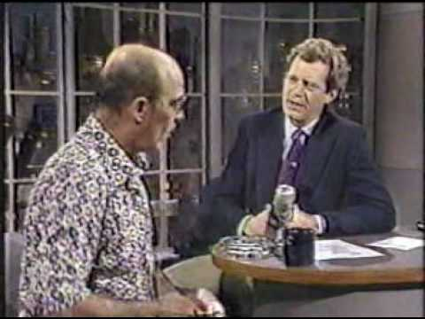 Hunter S. Thompson on Letterman, 11/25/88
