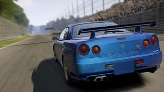 Need For Speed: Shift 2 Unleashed - Nissan Skyline GT-R (R34) - Test Drive Gameplay (HD) [1080p]